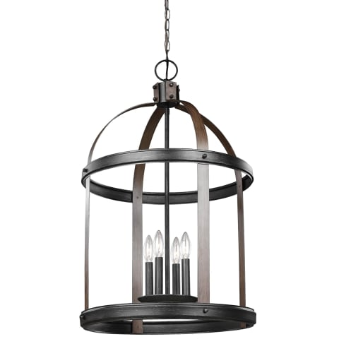 Lonoke Large Four Light Hall / Foyer Stardust