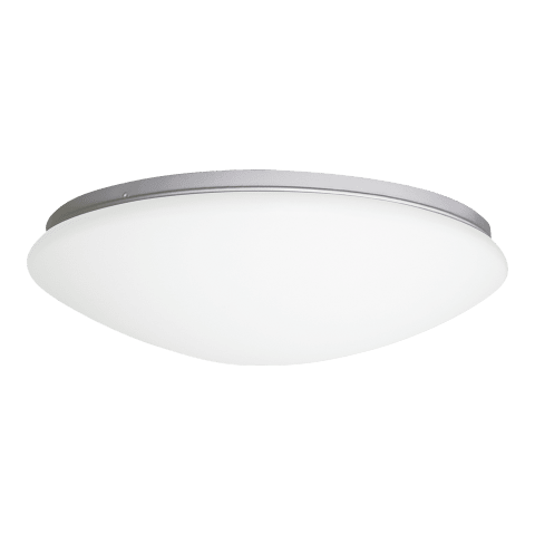 Holly Medium LED Flush Mount White Bulbs Inc