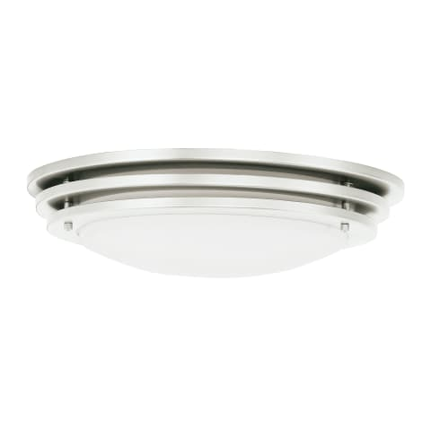 Nexus Small LED Flush Mount Brushed Nickel