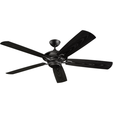 "60"" Cyclone Outdoor Fan -  Matte Black"