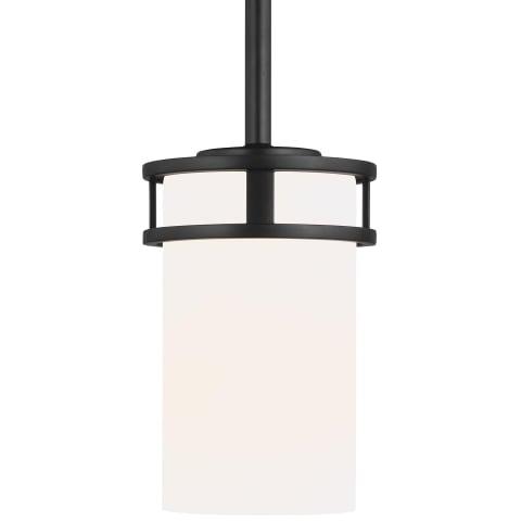 Robie One Light Mini-Pendant Midnight Black