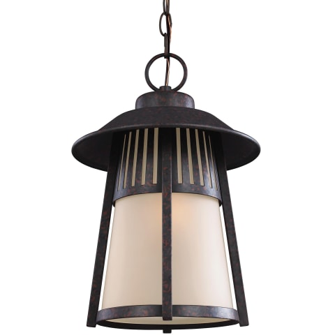 Hamilton Heights One Light Outdoor Pendant Oxford Bronze Bulbs Inc