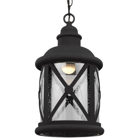 Lakeview LED Outdoor Pendant Black