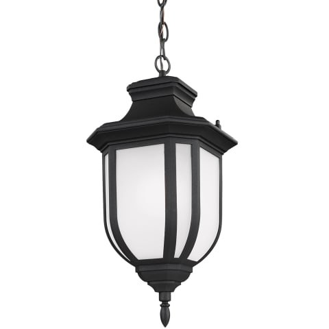 Childress One Light Outdoor Pendant Black