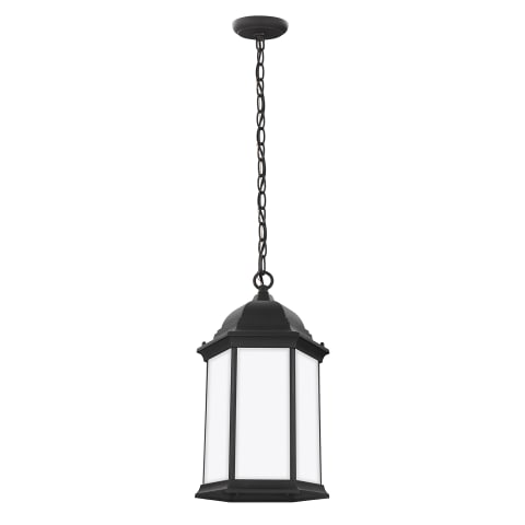 Sevier One Light Outdoor Pendant Black
