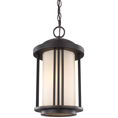 Crowell One Light Outdoor Pendant Antique Bronze