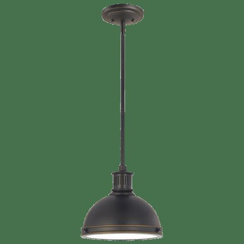 Pratt Street Metal One Light Pendant Autumn Bronze Bulbs Inc