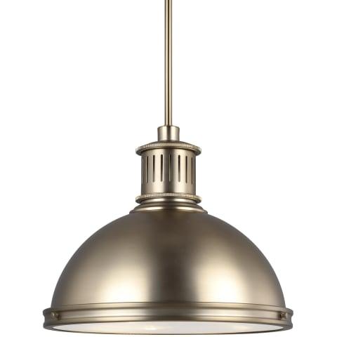 Pratt Street Metal Large LED Pendant Satin Bronze