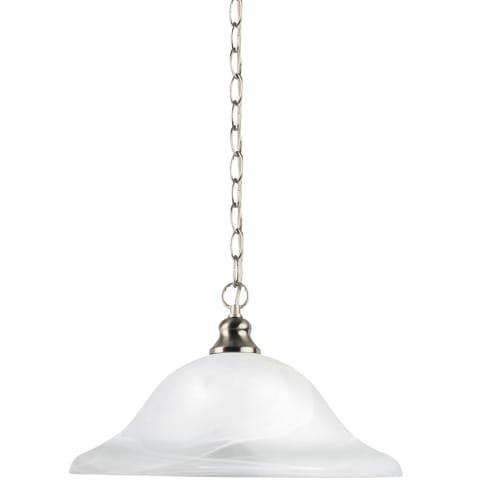 Windgate One Light Pendant   Brushed Nickel