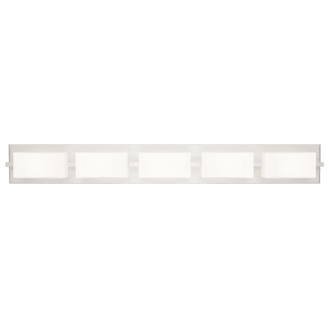 Arris 5-Light Bath satin nickel 2700K 90 CRI led 90 cri 2700k 120v
