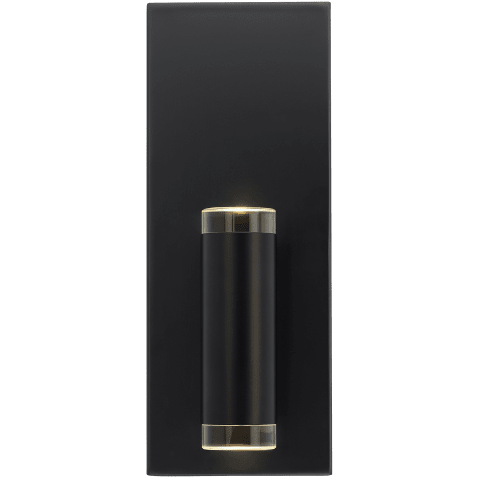 Dobson II 1-Light Wall/Bath 1 Light matte black 3000K 90 CRI led 90 cri 3000k 120v