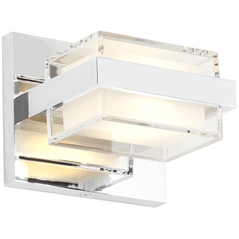 Kamden 1-Light Wall/Bath  chrome 3000K 90 CRI led 90 cri 3000k 120v