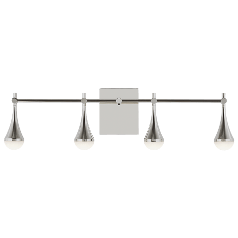 Lody 4-Light Bath  4 Light  polished nickel 3000K 90 CRI integrated led 90 cri 3000k unv 120v-277v