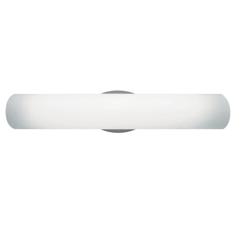 Luna Bath satin nickel fluorescent 120v
