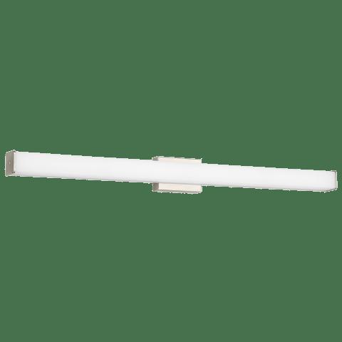 Lynn 48 Bath White Acrylic satin nickel 3000K 90 CRI led 90 cri 3000k 120v