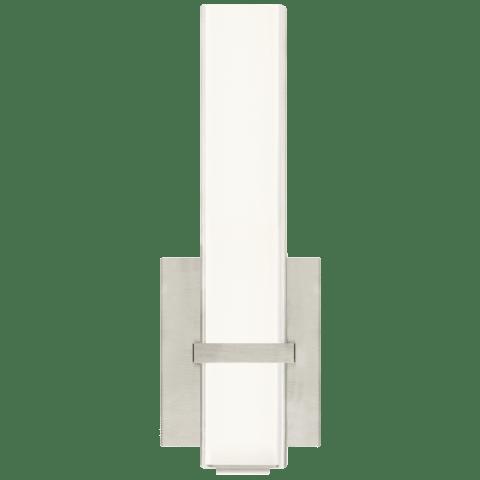 Milan II 13 Bath Acrylic satin nickel 3000K 90 CRI integrated led 90 cri 3000k 120v (t24)