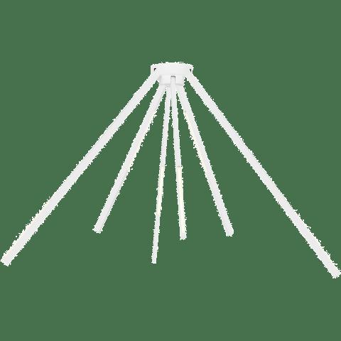 Aeon Large Flush Mount matte white 3000K 90 CRI led 90 cri 3000k 120v-277 unv