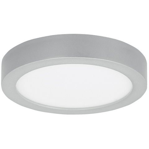 Tenur Round 10 Flush Mount 10 silver 3000K 90 CRI integrated led 90 cri 3000k 120v