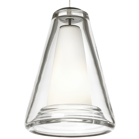 Billow Pendant MonoPoint Clear satin nickel (t20)
