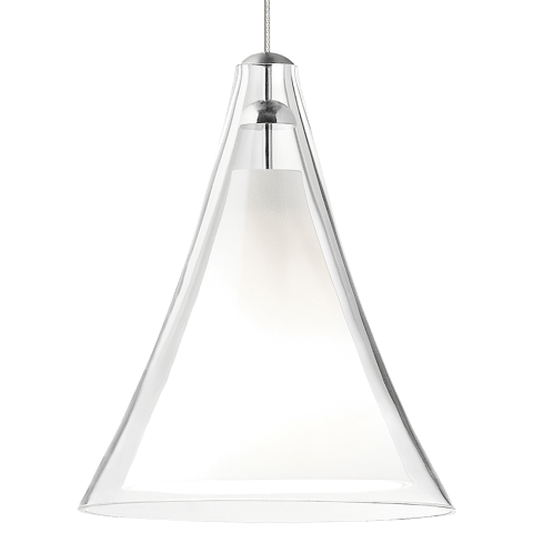 Mini Melrose II Pendant MonoPoint Clear chrome 12 volt halogen (t20)