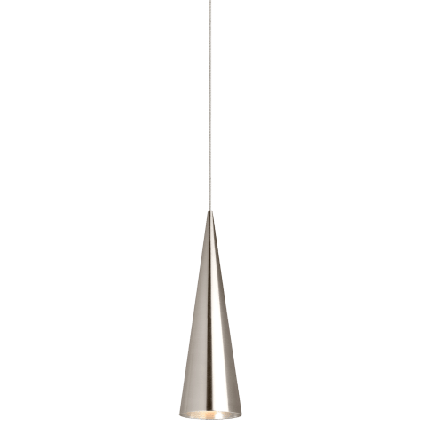 Summit Small Pendant MonoPoint Small satin nickel 3000K 90 CRI 12 volt led 90 cri 3000k