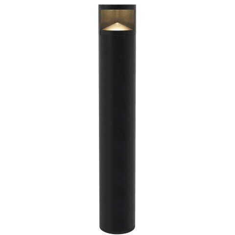 Arkay One 36 Outdoor Bollard black 3000K 80 CRI