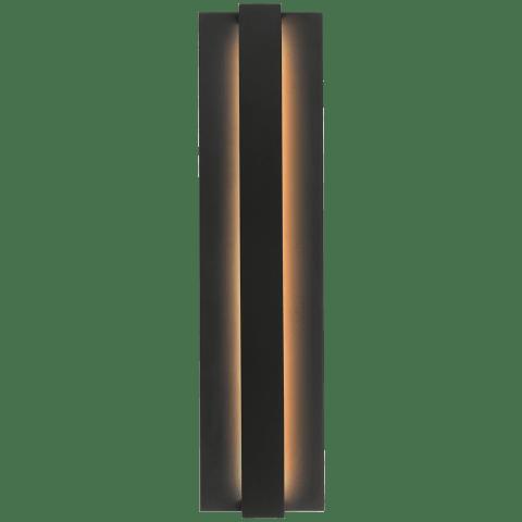 Windfall Outdoor Wall black 3000K 80 CRI led 80 cri 3000k 120v