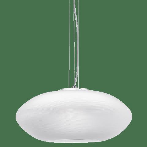 Circulet Grande Pendant White satin nickel 2700K 90 CRI a19 led 90 cri 2700k 120v (t20/t24)