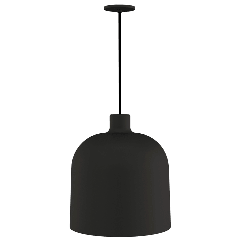 Foundry Pendant nightshade black 3000K 90 CRI integrated led 90 cri 3000k 120v