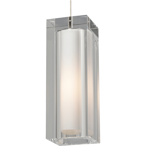 Jayden Grande Pendant Clear satin nickel no lamp