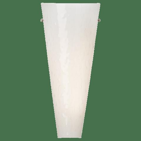 Larkspur Wall Surf White satin nickel no lamp