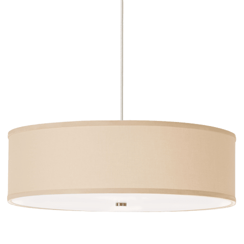 Mulberry Pendant Desert Clay satin nickel 2700K 90 CRI a19 led 90 cri 2700k 120v (t20/t24)