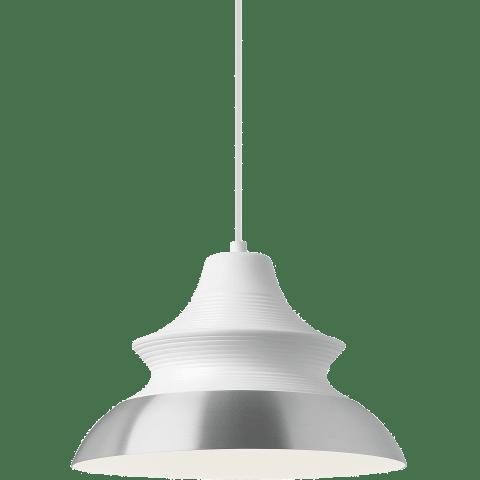 Togan Grande Pendant White/Aluminum no lamp