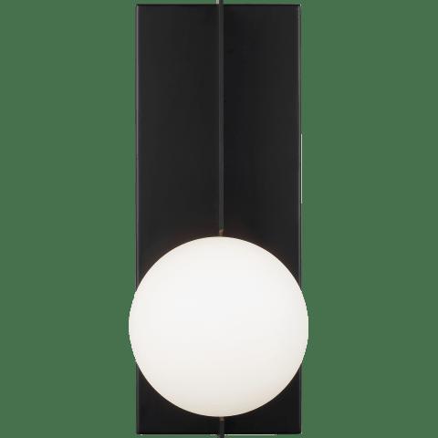 Orbel Wall  matte black no lamp