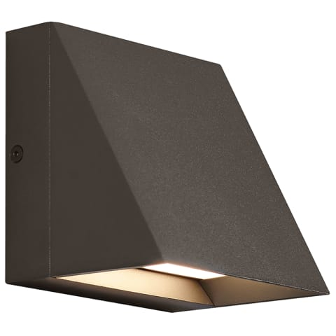 Pitch Single Outdoor Wall Single bronze 3000K 80 CRI led 80 cri 3000k 120v