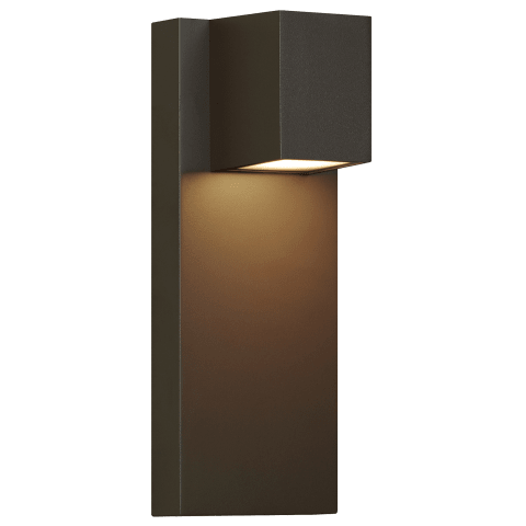 Quadrate Outdoor Wall bronze 3000K-2200K 90 CRI led 90 cri 3000k-2200k 120v
