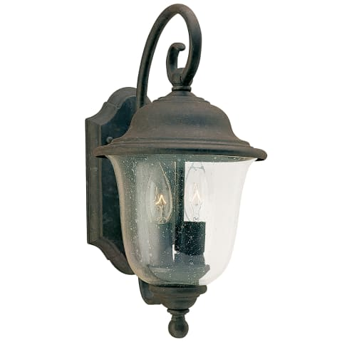 Trafalgar Two Light Outdoor Wall Lantern  Oxidized Bronze
