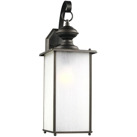 Jamestowne One Light Outdoor Wall Lantern Antique Bronze Bulbs Inc
