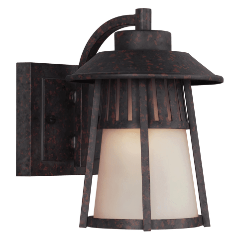 Hamilton Heights Small One Light Outdoor Wall Lantern Oxford Bronze Bulbs Inc