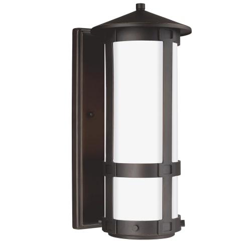 Groveton Small One Light Outdoor Wall Lantern Antique Bronze