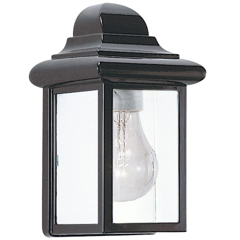 Mullberry Hill One Light Outdoor Wall Lantern Black