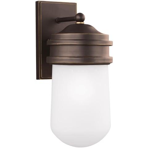 Mount Greenwood Large One Light Outdoor Wall Lantern Antique Bronze Bulbs Inc