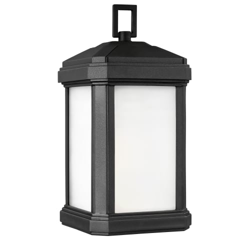 Gaelan Medium One Light Outdoor Wall Lantern Black Bulbs Inc