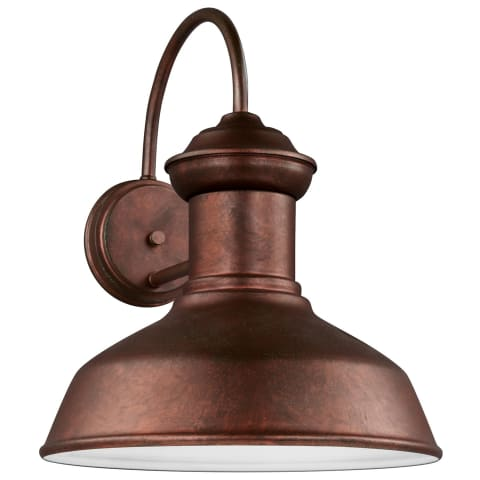 Fredricksburg Large One Light Outdoor Wall Lantern Weathered Copper