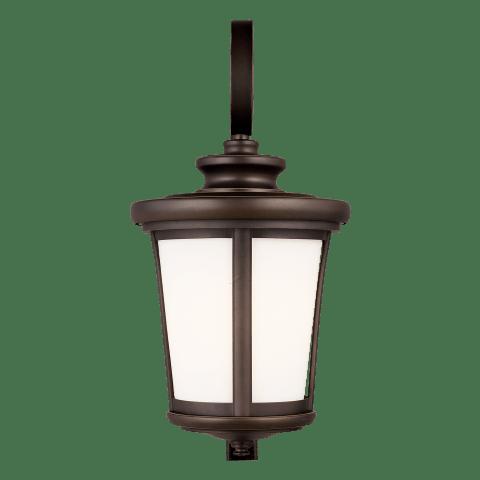 Eddington Large One Light Outdoor Wall Lantern Antique Bronze