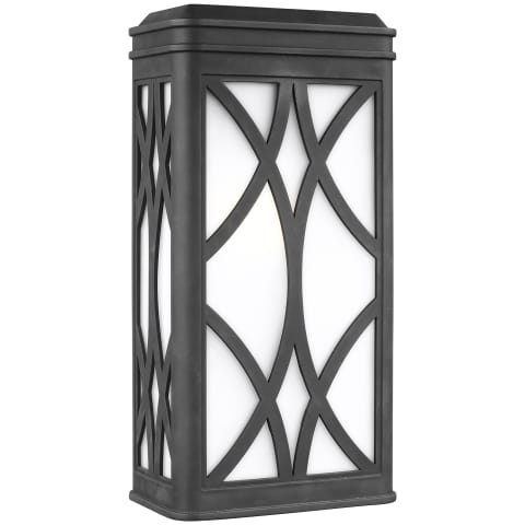 Melito Large One Light Outdoor Wall Lantern