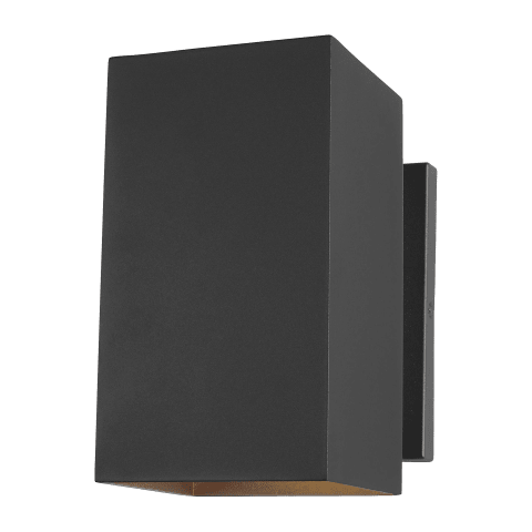 Pohl Medium One Light Outdoor Wall Lantern Black