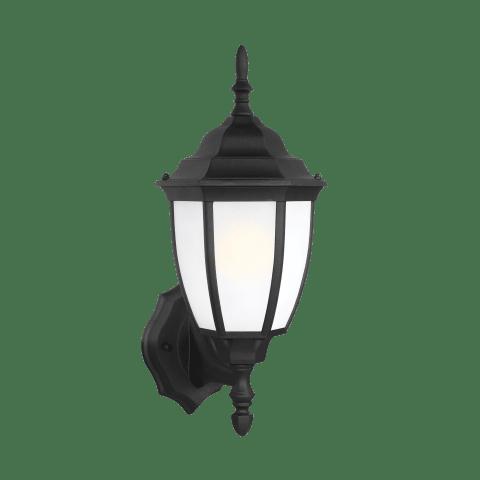 Bakersville One Light Outdoor Wall Lantern Black