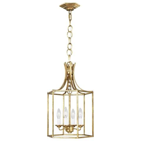 Bantry House Small Lantern Antique Gild