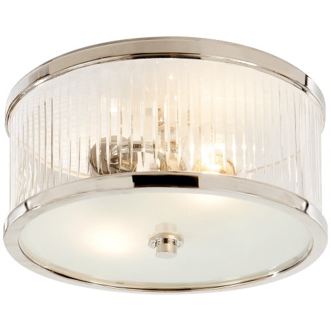 Randolph Small Flush Mount in Polished Nickel